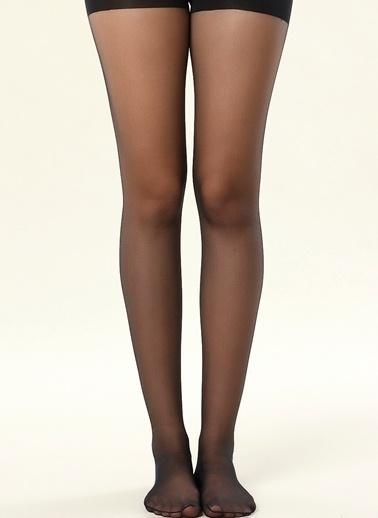 Dagi Yüksek Bel Korseli Kadın Çorap Siyah